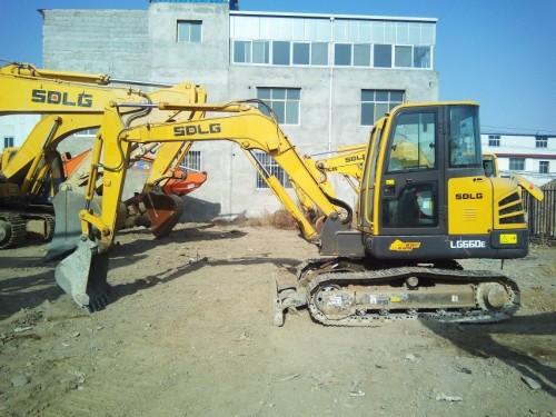 甘肃出售转让二手540小时2015年临工LG660E挖掘机