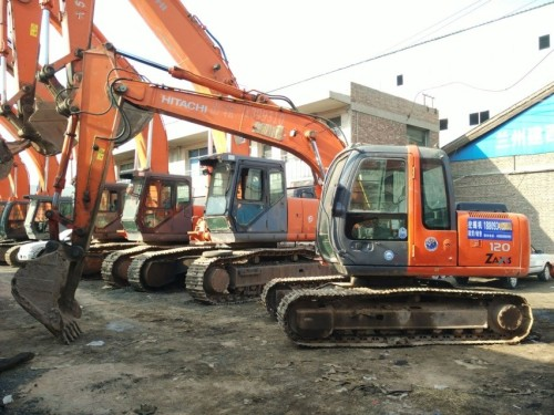 甘肃出售转让二手6157小时2008年日立ZX120挖掘机