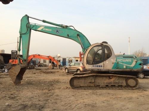 天津出售转让二手31496小时1995年神钢SK200挖掘机