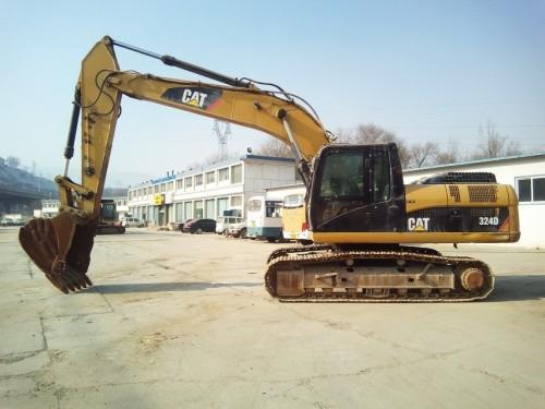 甘肃出售转让二手4915小时2011年卡特彼勒324D挖掘机