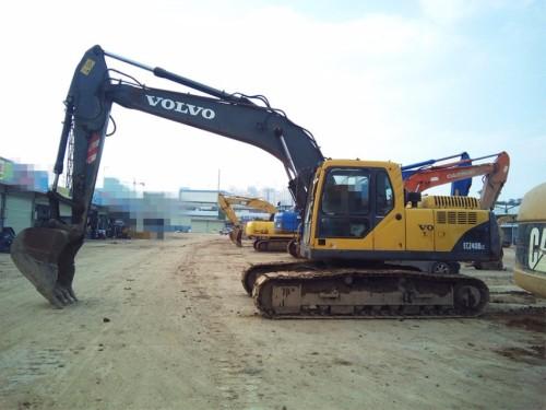 广西出售转让二手2004年沃尔沃EC210BLC挖掘机