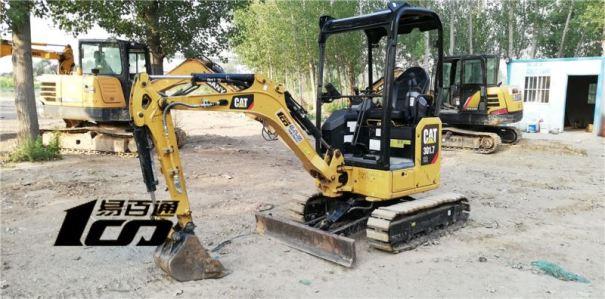 石家庄市出售转让二手700小时2018年卡特301.7CR挖掘机