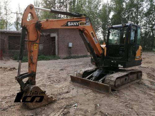 石家庄市出售转让二手7853小时2015年三一SY60C挖掘机