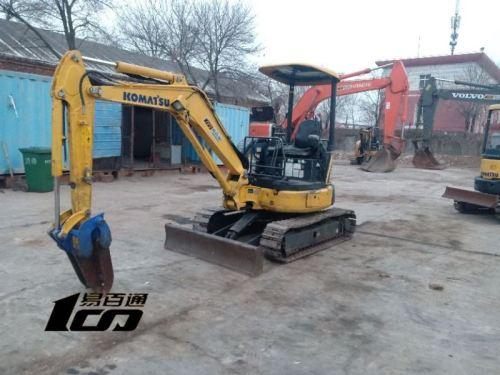 天津出售转让二手6494小时2010年小松PC30MR-3挖掘机