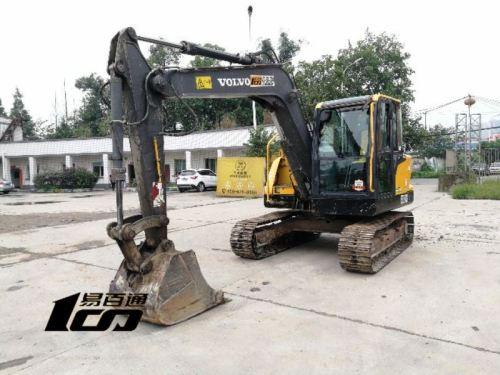 成都市出售转让二手2013年沃尔沃EC80D挖掘机