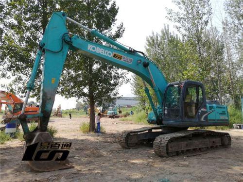 石家庄市出售转让二手12260小时2010年神钢SK210LC-8挖掘机
