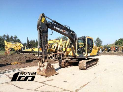 成都市出售转让二手2014年沃尔沃EC140BLC挖掘机