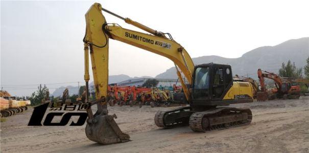 石家庄市出售转让二手2015年住友SH210-6挖掘机