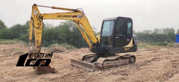 郑州市出售转让二手2008年现代R60-7挖掘机