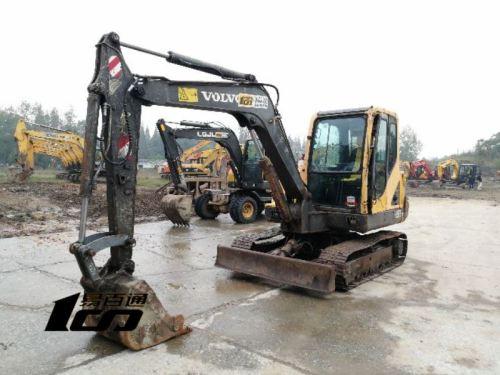 成都市出售转让二手2010年沃尔沃EC55BPro挖掘机