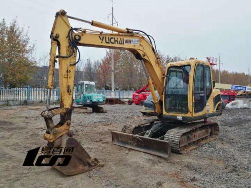 德州市出售转让二手2012年玉柴YC85-8挖掘机