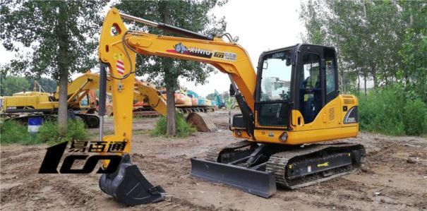 石家庄市出售转让二手5小时2019年犀牛重工XN80-E挖掘机