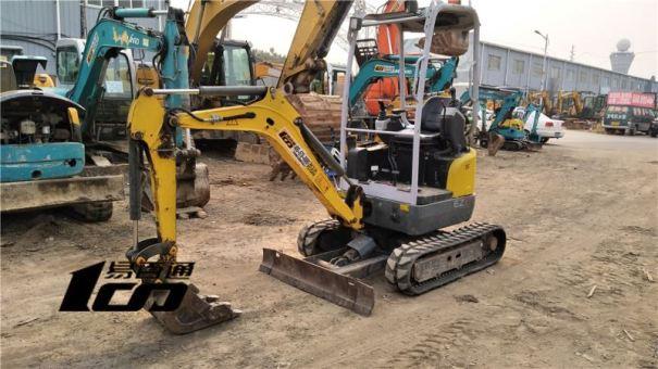 北京出售转让二手2800小时2017年威克诺森EZ17挖掘机