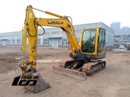 廊坊市出售转让二手2012年沃得W265-8挖掘机