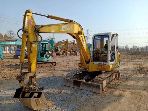 廊坊市出售转让二手2007年雷沃FR60-7挖掘机