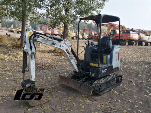 石家庄市出售转让二手1462小时2018年山猫E17挖掘机