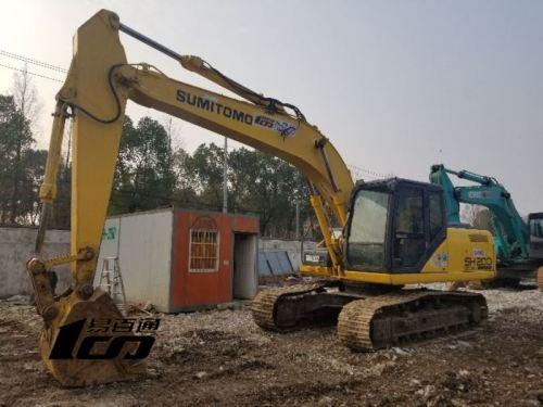 武汉市出售转让二手2010年住友SH200-5挖掘机