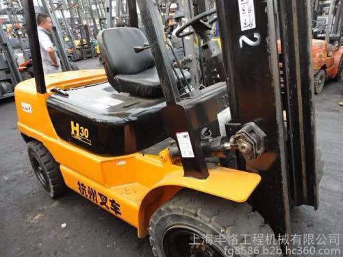 出售转让二手合力  杭州3吨叉装车