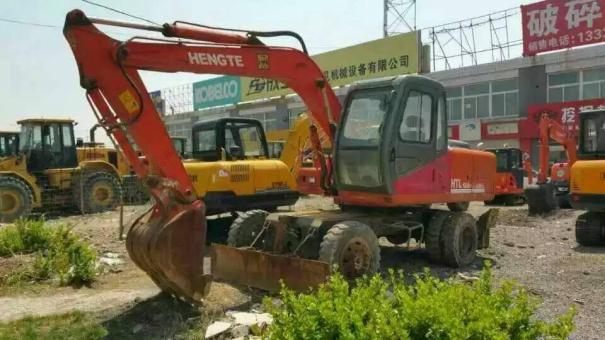 山东出售转让二手3600小时恒特挖掘机
