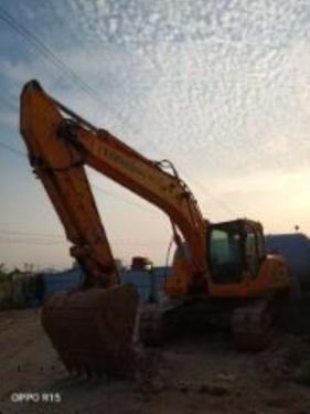 郑州市出售转让二手2881小时2018年龙工LG6225E挖掘机