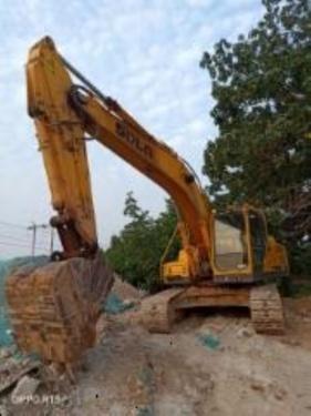 郑州市出售转让二手7373小时2012年临工LG210挖掘机