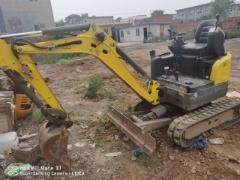 郑州市出售转让二手3764小时2015年威克诺森EZ17挖掘机