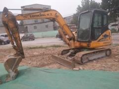 郑州市出售转让二手2013年龙工LG6060D挖掘机