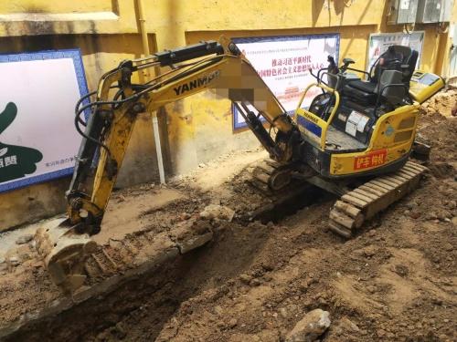 郑州市出售转让二手4367小时2016年洋马Vio17挖掘机