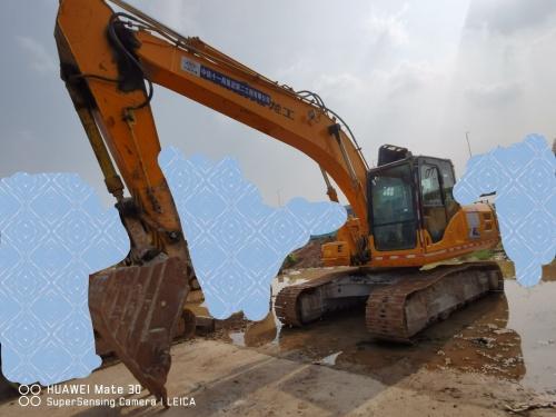 郑州市出售转让二手2383小时2017年龙工LG6225E挖掘机