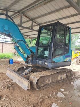 郑州市出售转让二手4202小时2015年山河智能SWE50E挖掘机