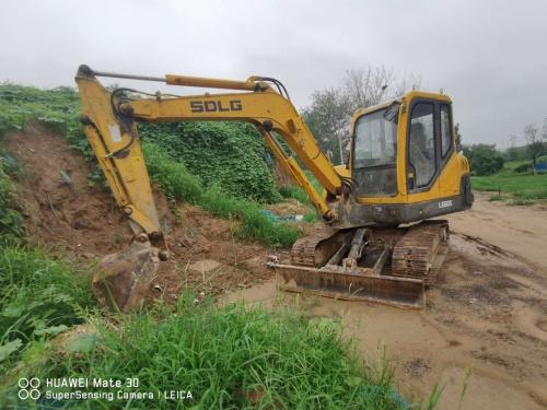 郑州市出售转让二手5243小时2012年临工LG665挖掘机