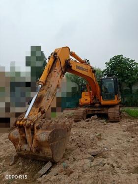 郑州市出售转让二手2014年龙工LG6220D挖掘机