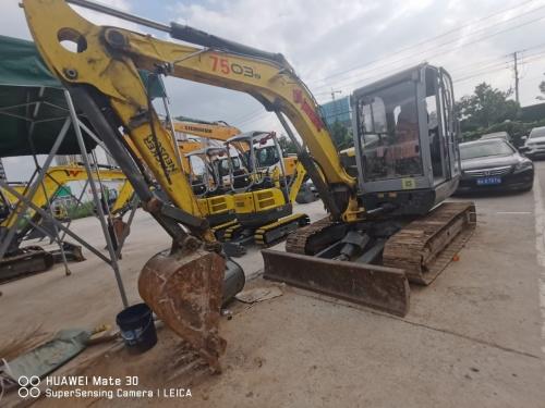 郑州市出售转让二手2015年威克诺森6003挖掘机
