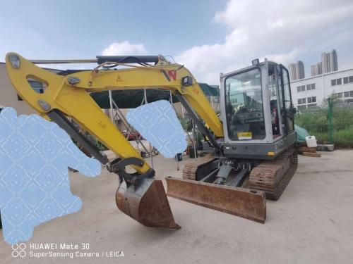 郑州市出售转让二手2019年威克诺森ET60CN挖掘机