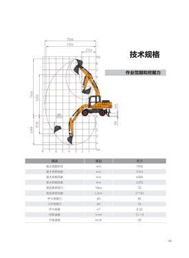 恒特HT135W轮式挖掘机电子样本-第11页