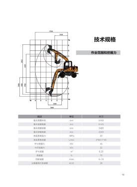 恒特HT75W轮式挖掘机电子样本-第11页