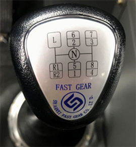 【Transmission】9-speed transmission, with one-key gear shift between high and low speed.