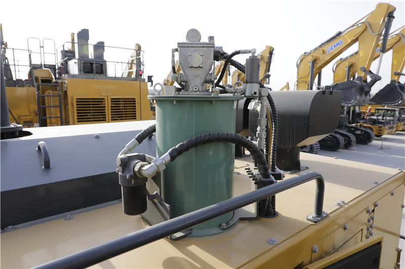 【多圖】徐工XE1250礦用液壓挖掘機可靠、方便的油脂潤滑系統細節圖_高清圖
