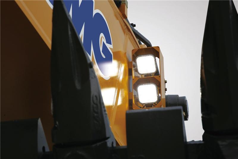 【多圖】徐工XE1250礦用液壓挖掘機高效長壽命照明系統細節圖_高清圖