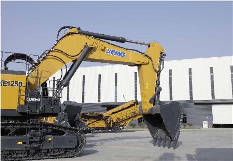 【多圖】徐工XE1250礦用液壓挖掘機適應礦山作業的工作裝置細節圖_高清圖
