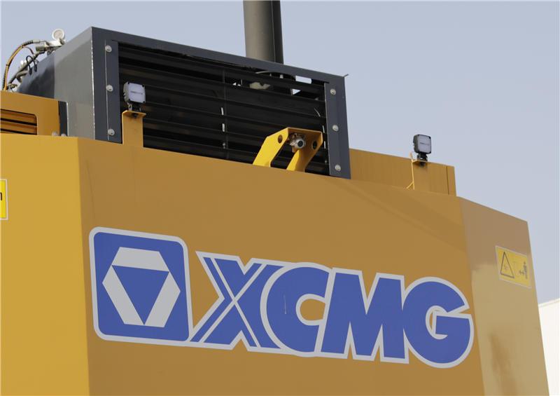 【多圖】徐工XE1250礦用液壓挖掘機尾部高清攝像頭細節圖_高清圖