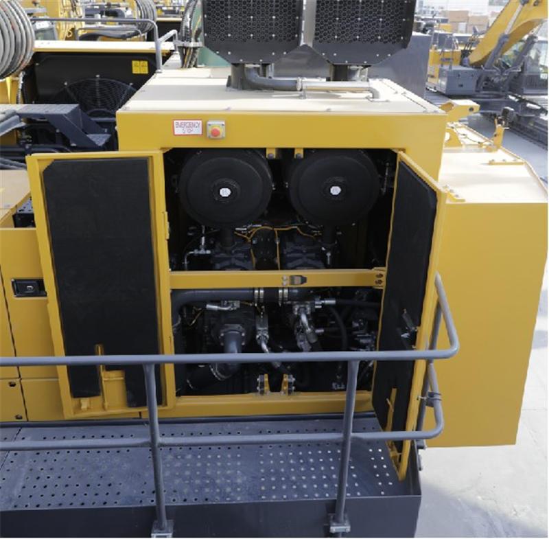 【多圖】徐工XE1250礦用液壓挖掘機雙級分離+廢氣排塵引射技術細節圖_高清圖