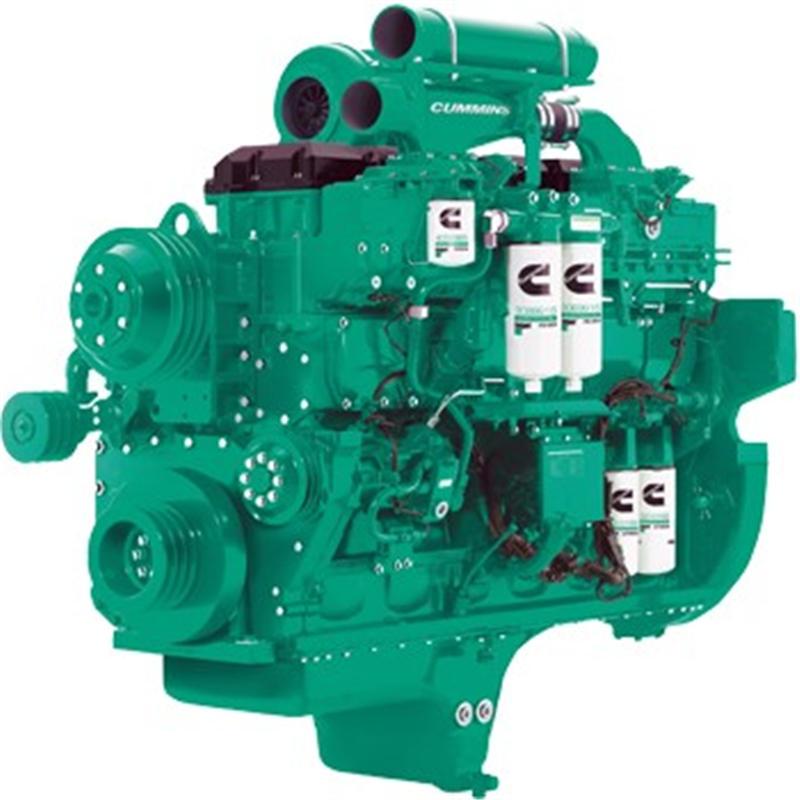 【多圖】徐工XE1250礦用液壓挖掘機動力強勁的發動機細節圖_高清圖