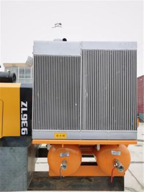 【开山5m³螺旋式空压机】5m3空压机 大功率、低消耗,为钻孔施工持续输出动力,效率提升40%。