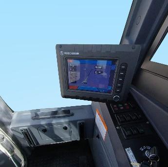 雷萨重机FTC25X5汽车起重机上车操作室