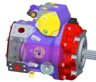【Rexroth inside 更可靠、高效】4联泵及阀组采用德国力士乐,其中主泵升级为力士乐40系列,系统压力40MPa,泵送出口压力达到100bar,提升14%,更加高效、可靠。