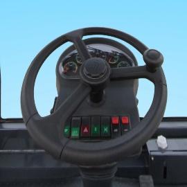 柳工CLG6126E机械振动单钢轮压路机驾驶室