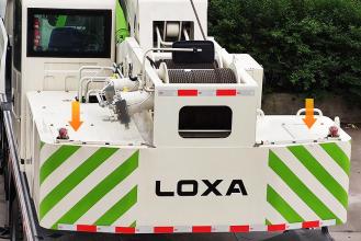 【配重】6+1吨组合配重,安装于转台后下部,行驶方便,使起重能力全面提升5-10%左右。