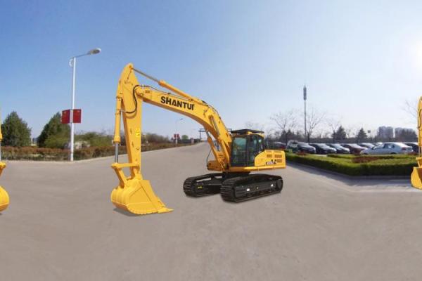 【720°全景展示】山推SE370LC挖掘机