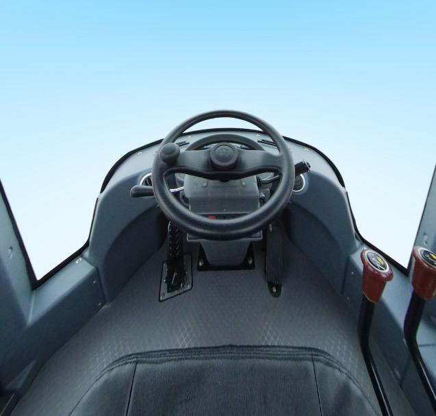 英轩重工YX655HV轮式装载机驾驶室